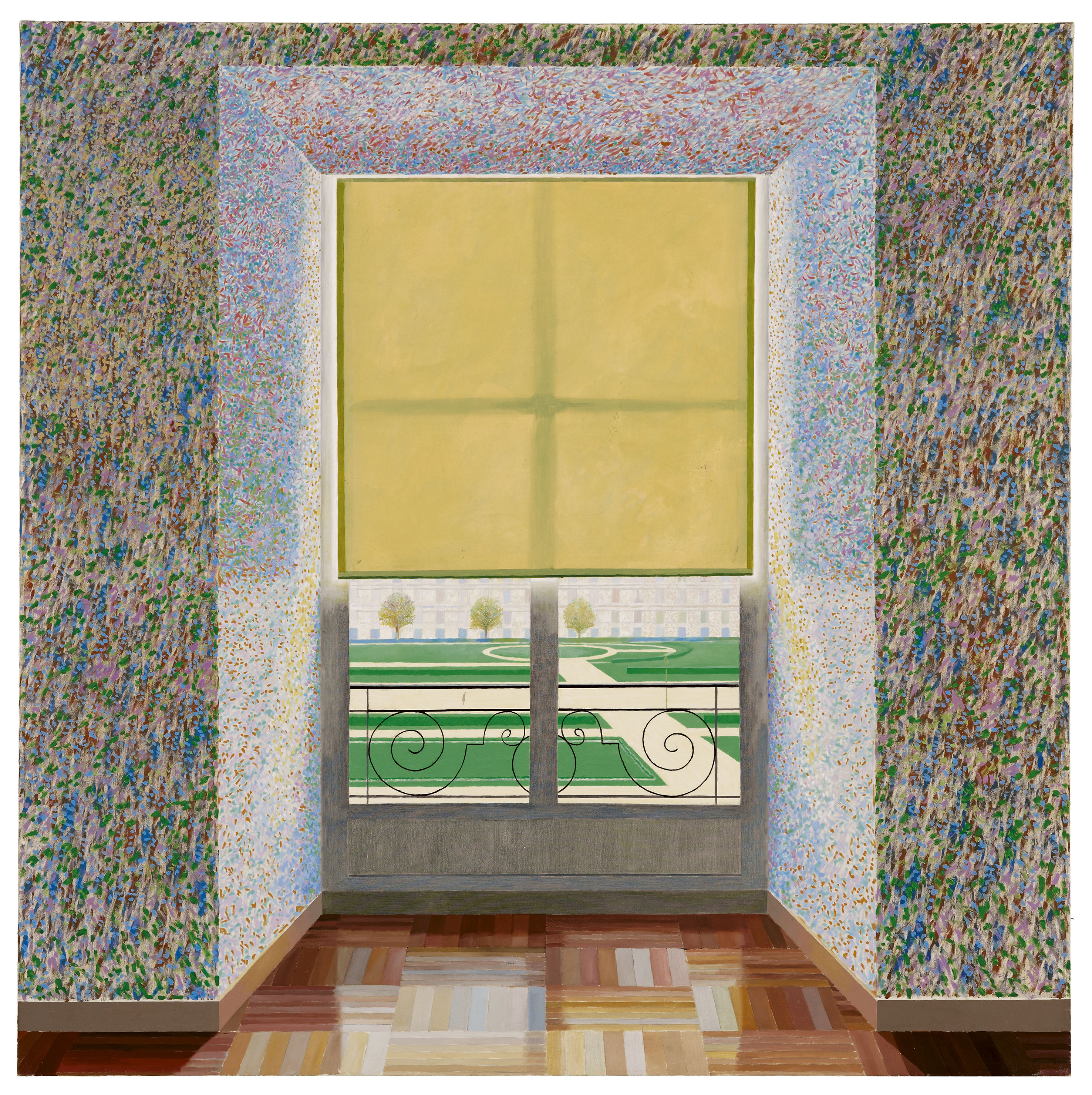 10David Hockney Contre Jour in the French Style 1974 Huile sur toile © David Hockney Collectin Ludwig Museum Budapest