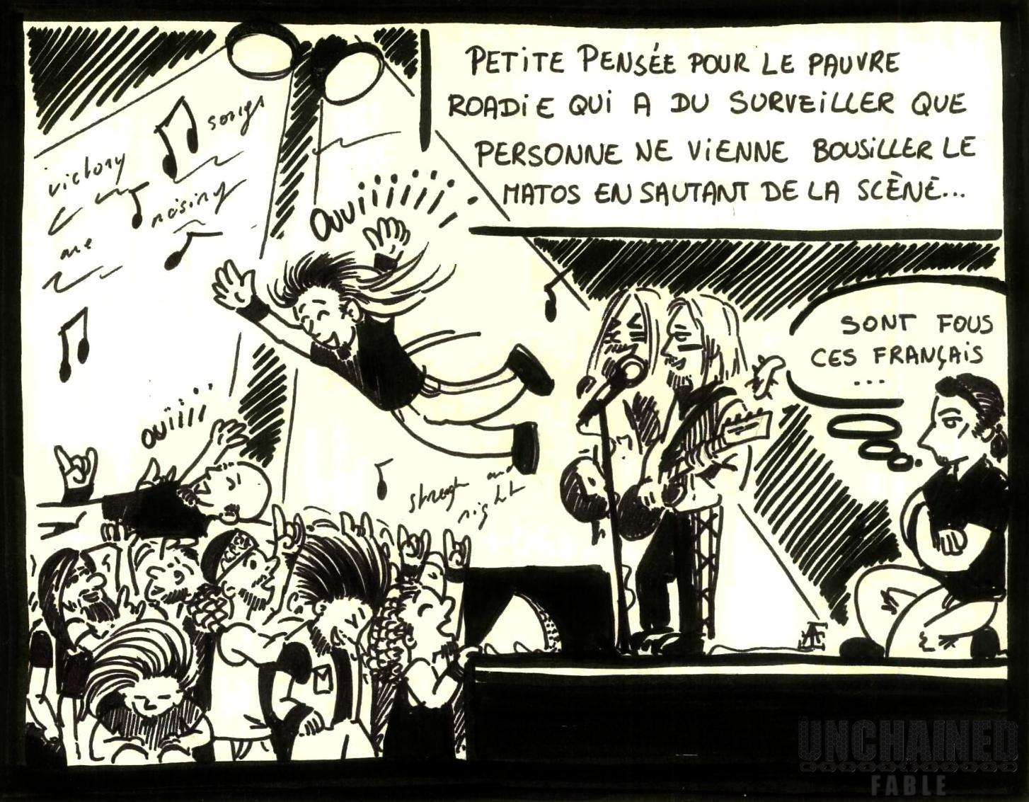 Illustration concert Ensiferum