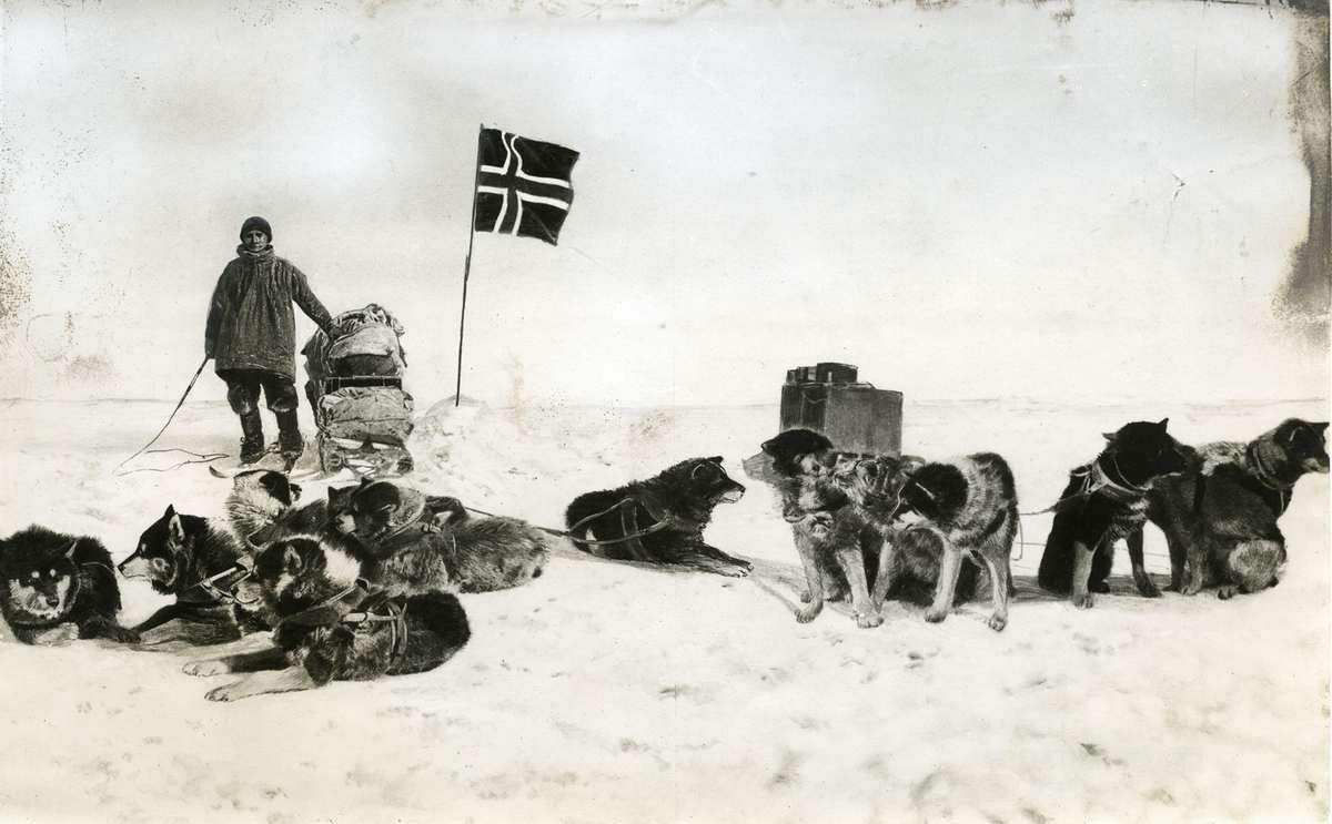 roald amundsen and his cleps