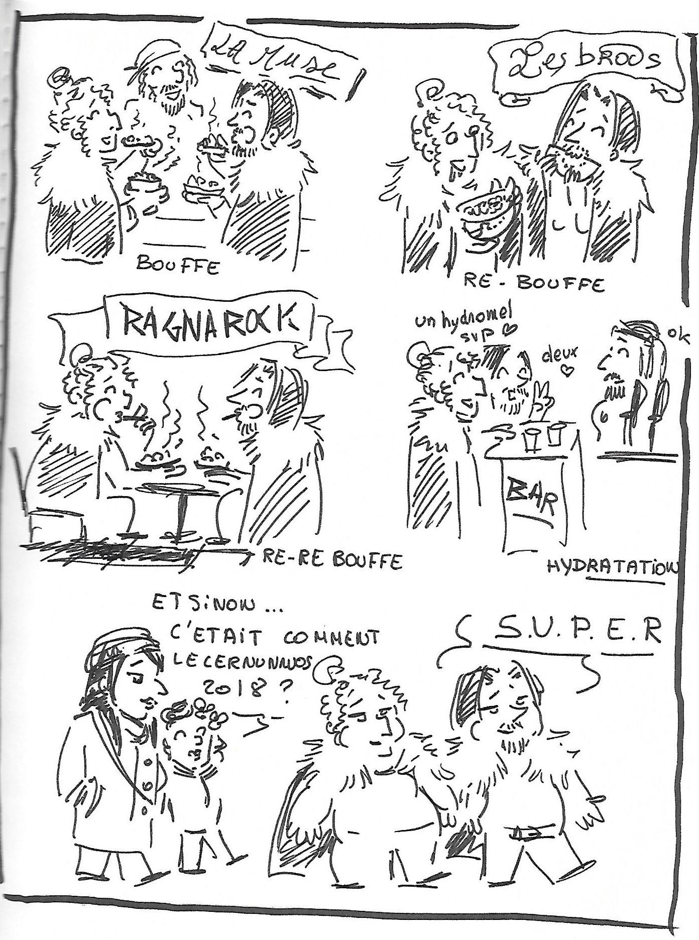 dessin bouffe