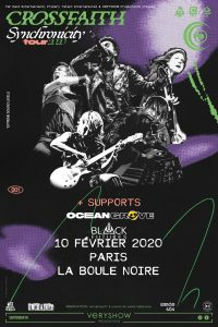 Gagne tes places pour le concert de Brother Of Metal à Paris - A close up of a book - Crossfaith