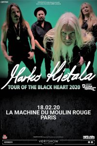 Gagne tes places pour le concert de Brother Of Metal à Paris - A close up of a book - Marco Hietala